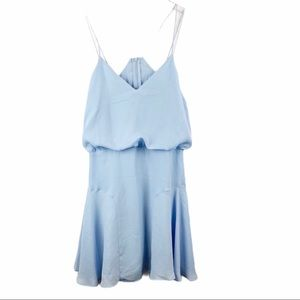 LuLu's Blue Blouson Dress Medium